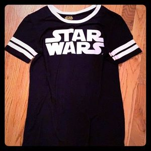 Disney Star Wars Navy Jersey medium